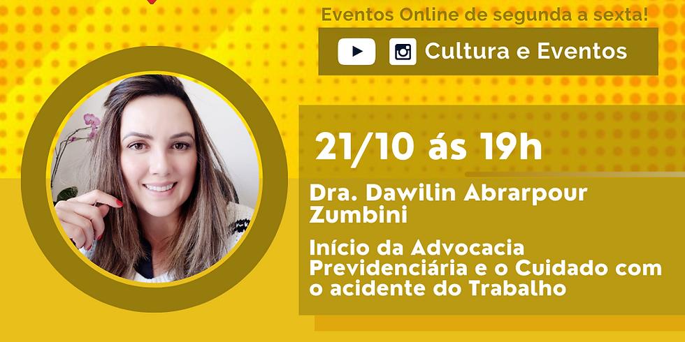 21.10.20 às 19h - Dra. Dawlilin Abrarpour Zumbini