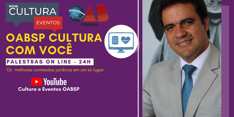 22.05.2020 às 15h   Palestra Online - Dr. Romeu Gonçalves