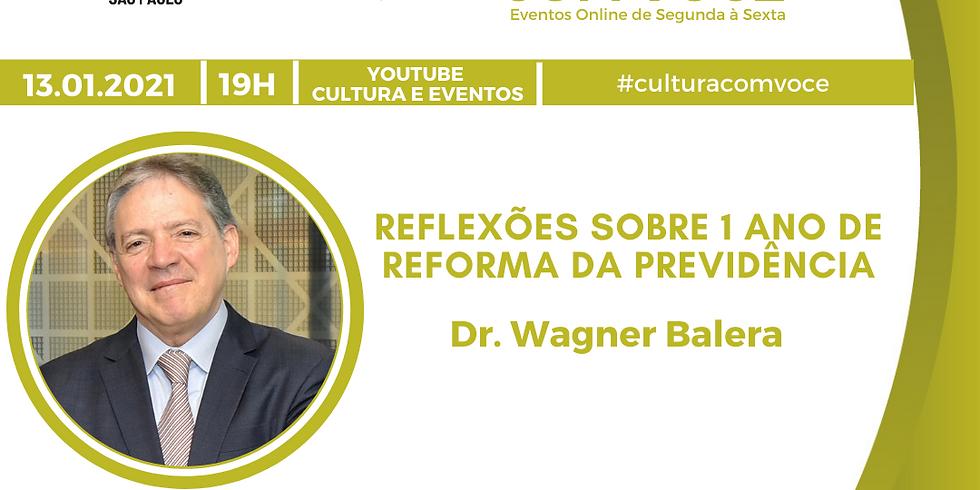 13.01.21 às 19h - Dr. Wagner Balera