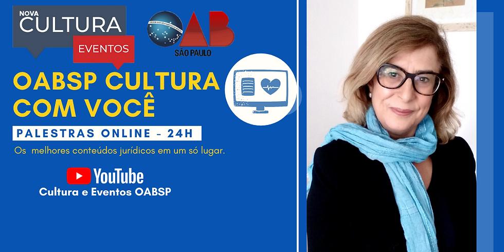25/05/2020 às 19h Palestra Online - Dra. Silvia Zago