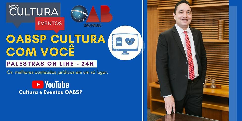 11.05.2020 às 19h   Palestra Online -  Dr. Rafael  Loureiro Faben