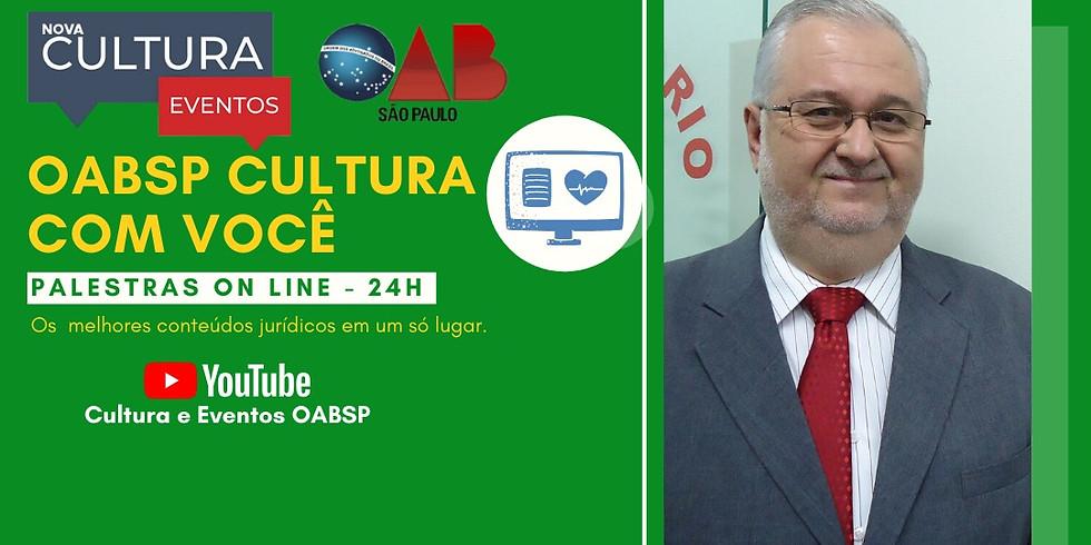 02.06.2020 às 19h | Palestra Online - Dr. Claudio Tadeu Muniz