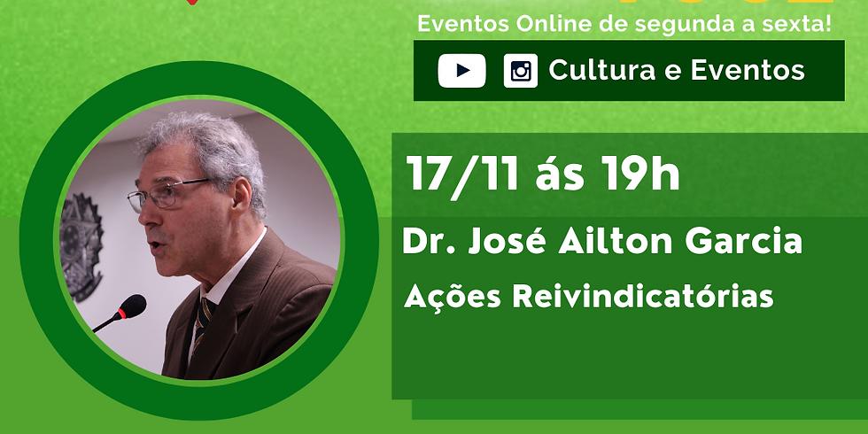 17.11.20 às 19h - Dr. José Ailton Garcia