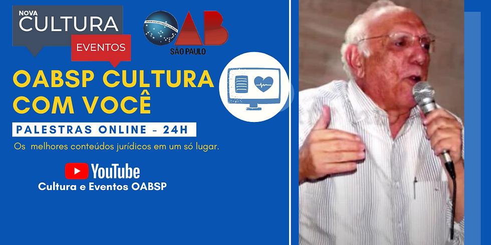 18.05.2020 às 10h   Palestra Online - Prof. Jorge Miguel