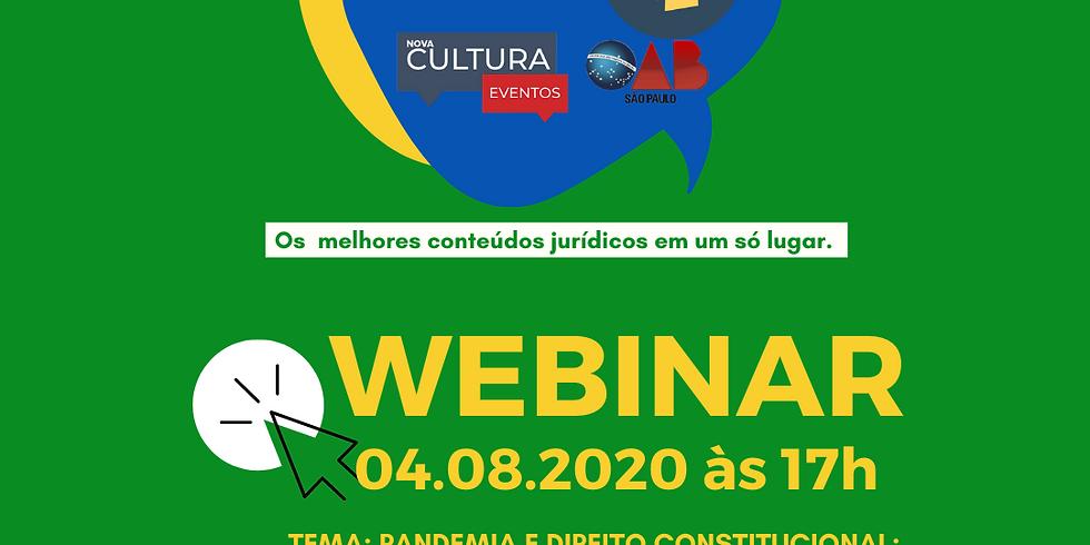 04.08.2020 às 17h   Fabio Ricardo Rodrigues dos Santos; Flávio Martins; Marcello Fiore; Luciana Berardi