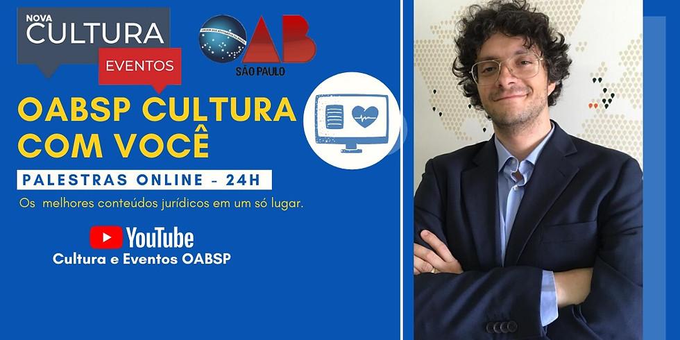 01.06.2020 às 10h   Palestra Online - Dr. Alexandre Peres Rodrigues