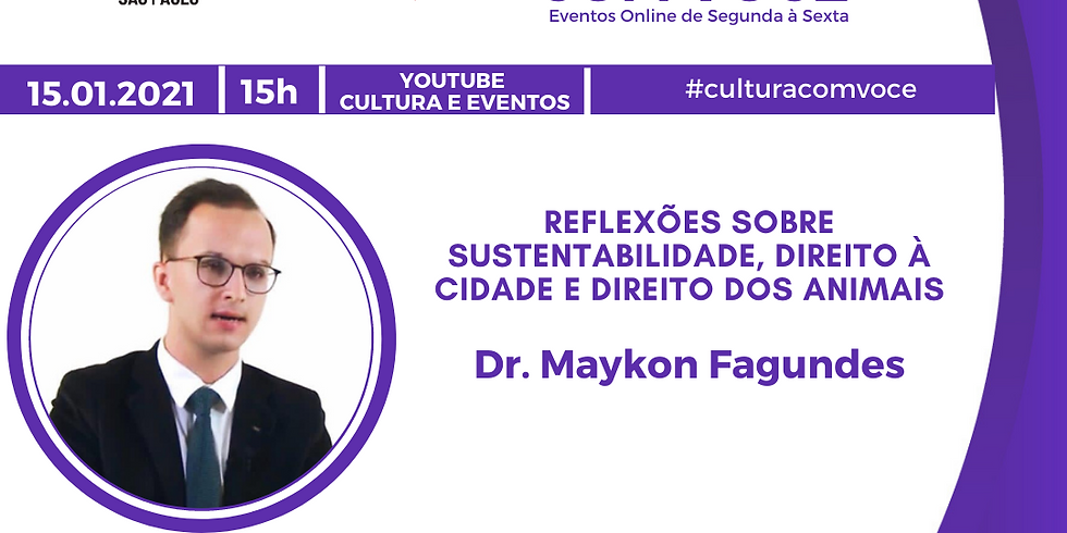 15.01.21 às 15h - Dr. Maykon Fagundes