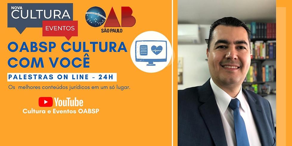 04.06.2020 às 19h   Palestra Online - Dr. Ademir Rafael dos Santos