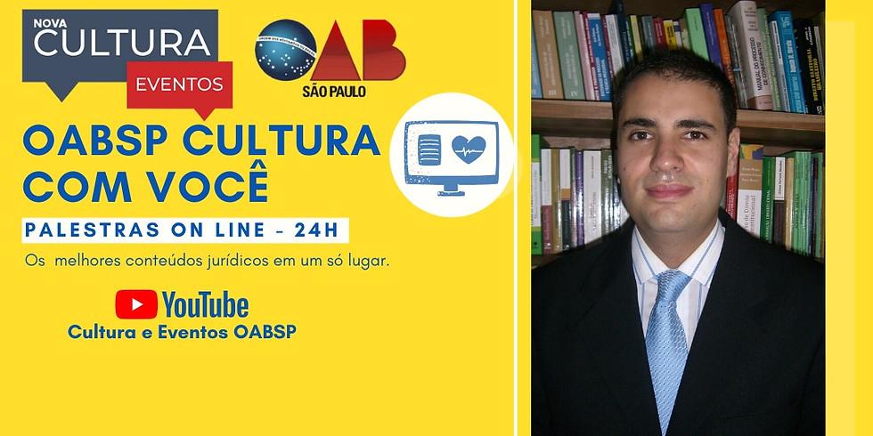 10.06.2020 às 19h   Palestra Online - Dr. João Carlos Navarro de Almeida Prado