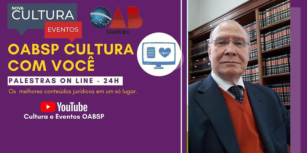 05.06.2020 às 15h   Palestra Online - Dr. Nivaldo Sebastião Vicola