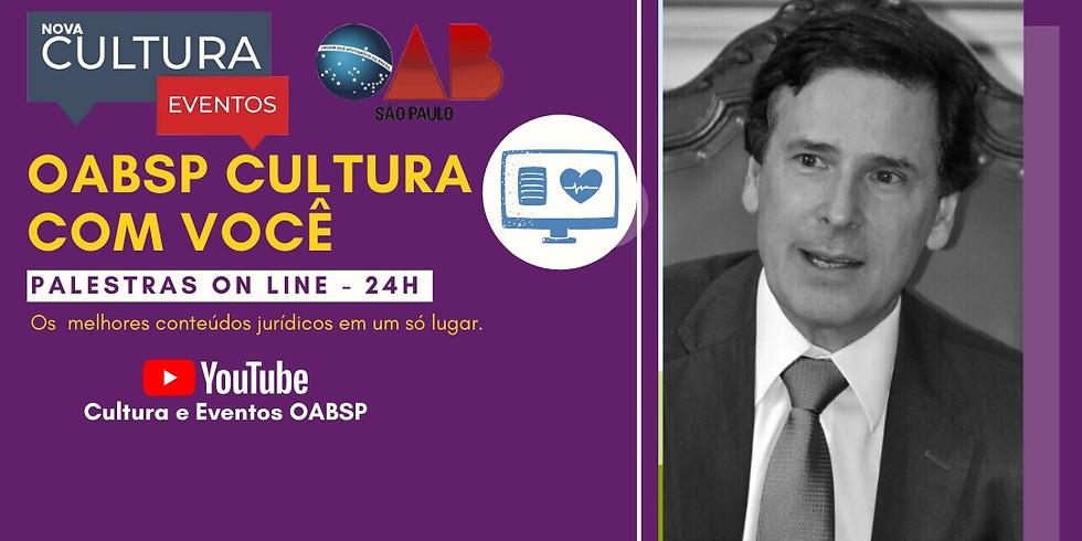 12.06.2020 às 15h   Palestra Online - Dr. Rogério José Ferraz Donnini
