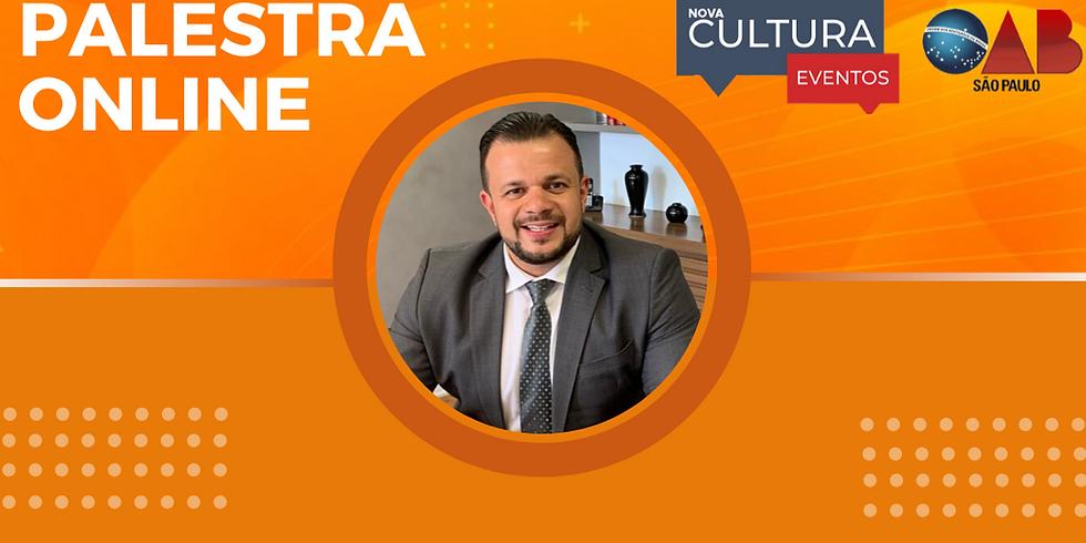 30.07.2020 às 19h | Palestra Online - Dr. Leone Pereira da Silva Junior