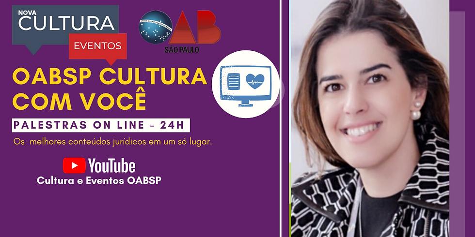 26.06.2020 às 15h | Palestra Online - Dra. Christiana Beyrodt Cardoso