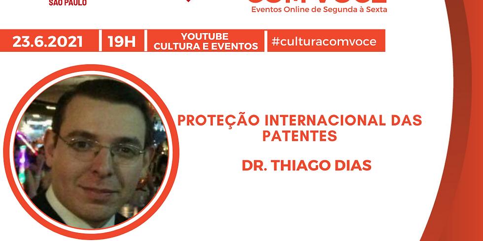 23.6.21 às 19h - Dr. Thiago Dias