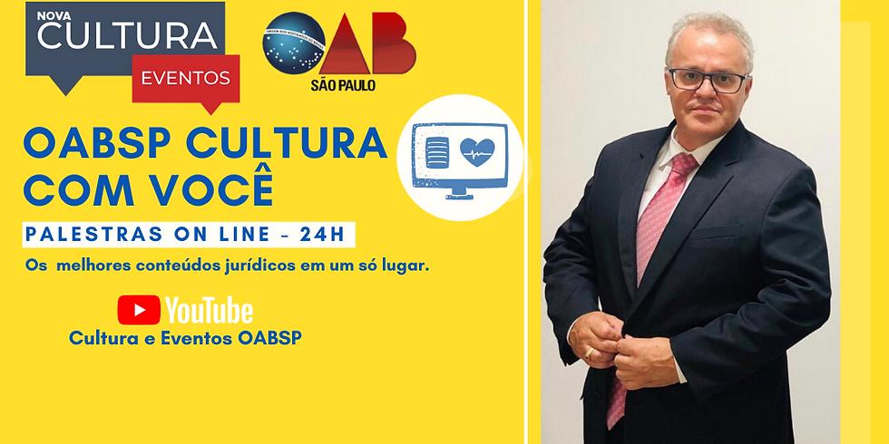13/05/2020 às 19h | Palestra Online - Dr. Tony Cristiano Nunes