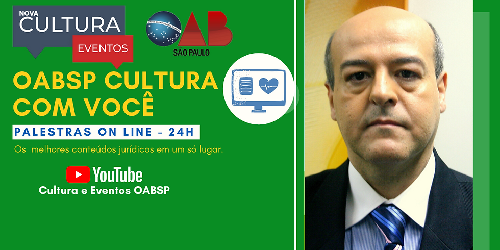 26/05/2020 às 19h Palestra Online -  Dr. Adilson Sanchez