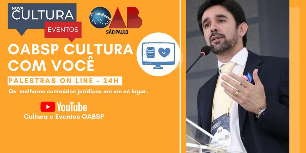 21.05.2020 às 19h - Palestra Online - Dr. Marlon Luiz Garcia Livramento