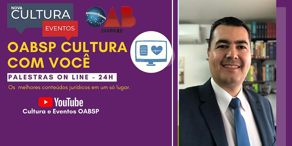 19.06.2020 às 15h   Palestra Online - Dr. Ademir Rafael
