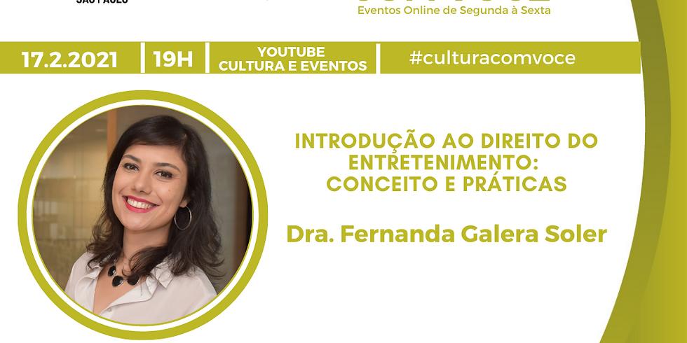 17.02.21 às 19h - Dra. Fernanda Galera Soler
