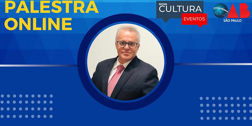 17.08.2020 às 19h | Palestra Online - Dr. Tony Nunes