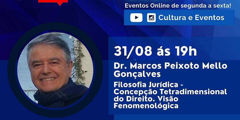 31.08.2020 às 19h | Palestra Online - Dr. Marcos Peixoto Mello Gonçalves