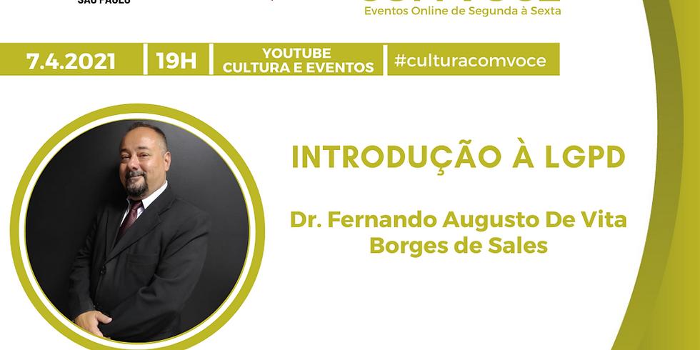 7.4.21 às 19h - Dr. Fernando Augusto De Vita Borges de Sales