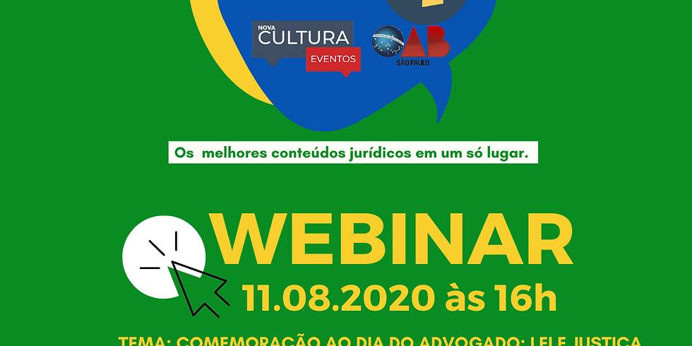 11.08.2020 às 16h | Dr. Caio Augusto Silva dos Santos; Dr. Alexandre Luis Mendonça; Marcello Fiore; Luciana Berardi