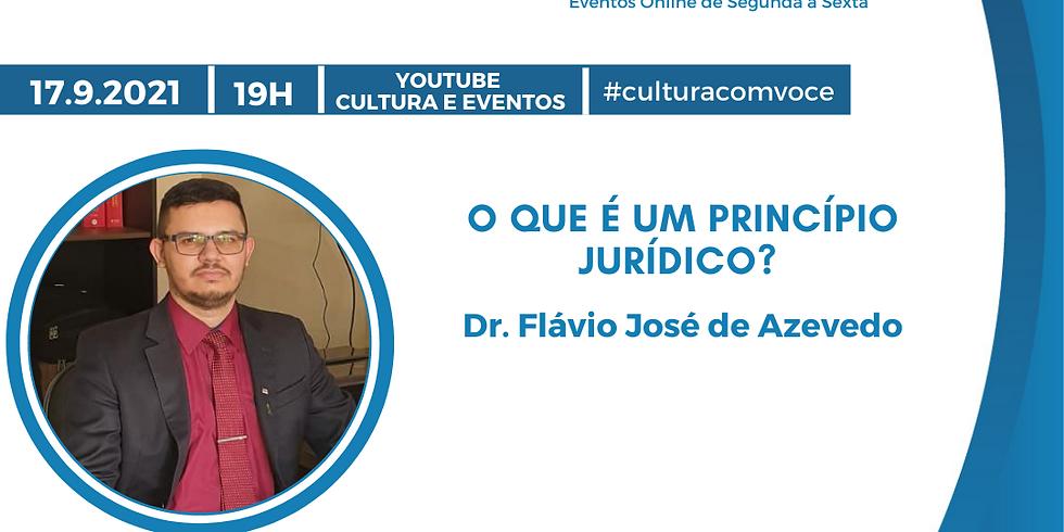 17.9.21 às 19h - Dr. Flávio José de Azevedo