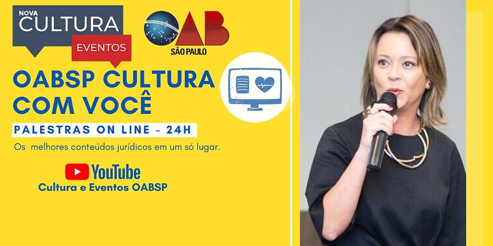 27/05/2020 às 19h Palestra Online -  Dra. Lu Sampaio
