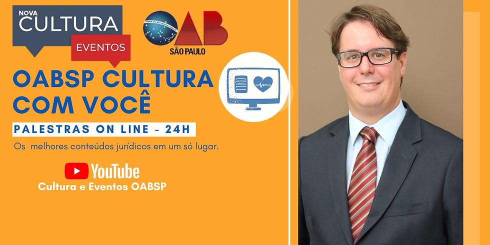 11.06.2020 às 19h   Palestra Online - Dr. Rafael de Castro Spadoto