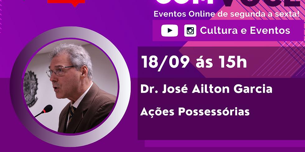 18.09.2020 às 15h   Palestra Online - Dr. José Ailton Garcia