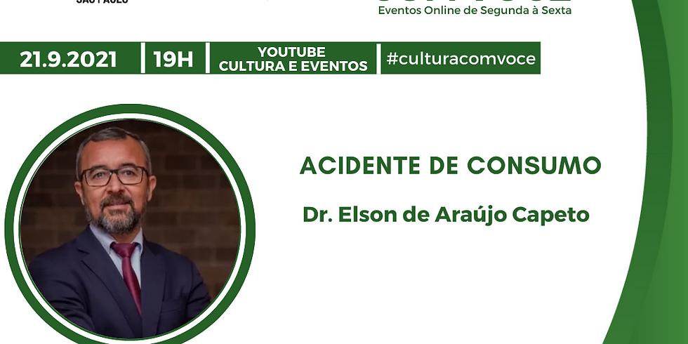 21.9.21 às 19h - Dr. Elson de Araújo Capeto