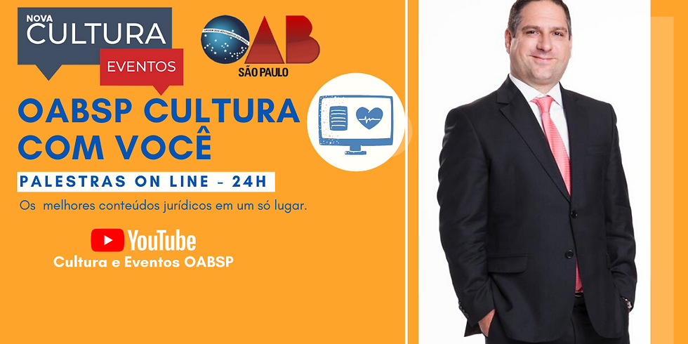 18.06.2020 às 19h   Palestra Online - Dr. Roberto Rosio