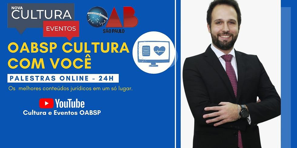 01.06.2020 às 19h | Palestra Online - Dr. Rafael Antonietti Matthes