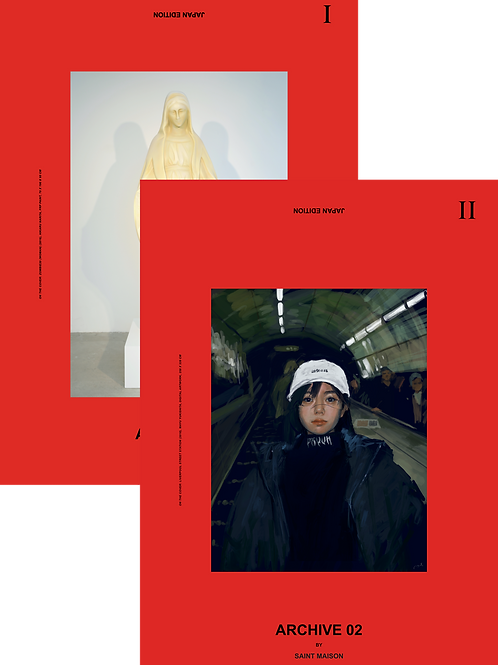 Archive 01 & 02 Japan Print Edition 🇯🇵 (Pre-order)
