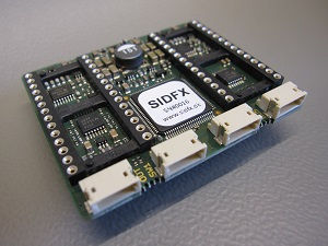SIDFX front top view