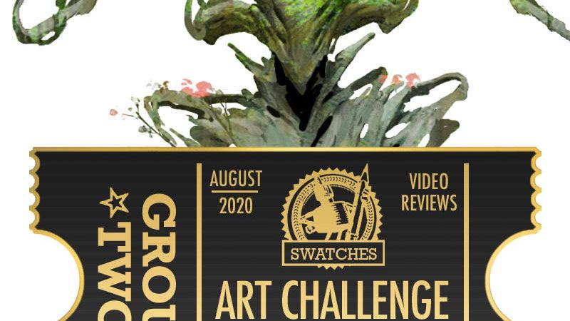 Art Challenge Ticket: Artifacts & Elementals (group 2)