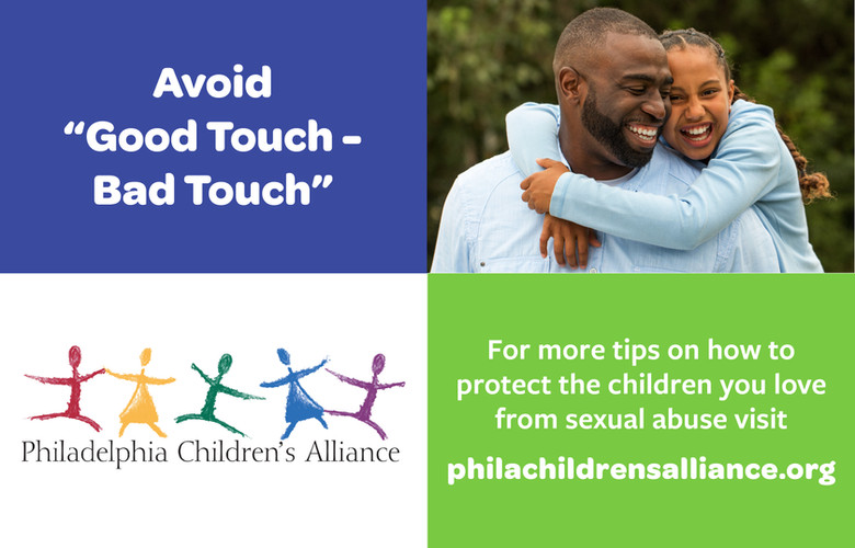 """Avoid """"Good Touch - Bad Touch"""""""