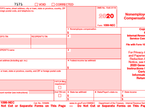 IRS Launches New Form Replacing 1099-MISC for Contractors in 2020