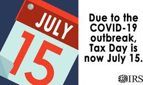 State Postpones Tax Deadlines Until July 15 Due to the COVID-19 Pandemic