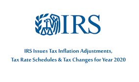 IRS provides tax inflation adjustments for tax year 2020