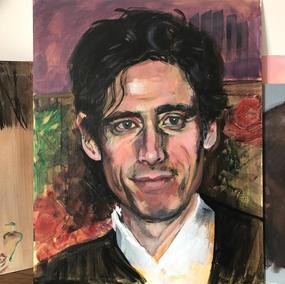 Mr Mnagan needs a tweak (his painting, a