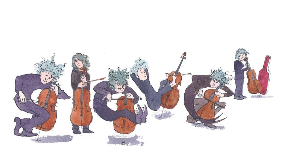 Bespoke - Steven the cellist