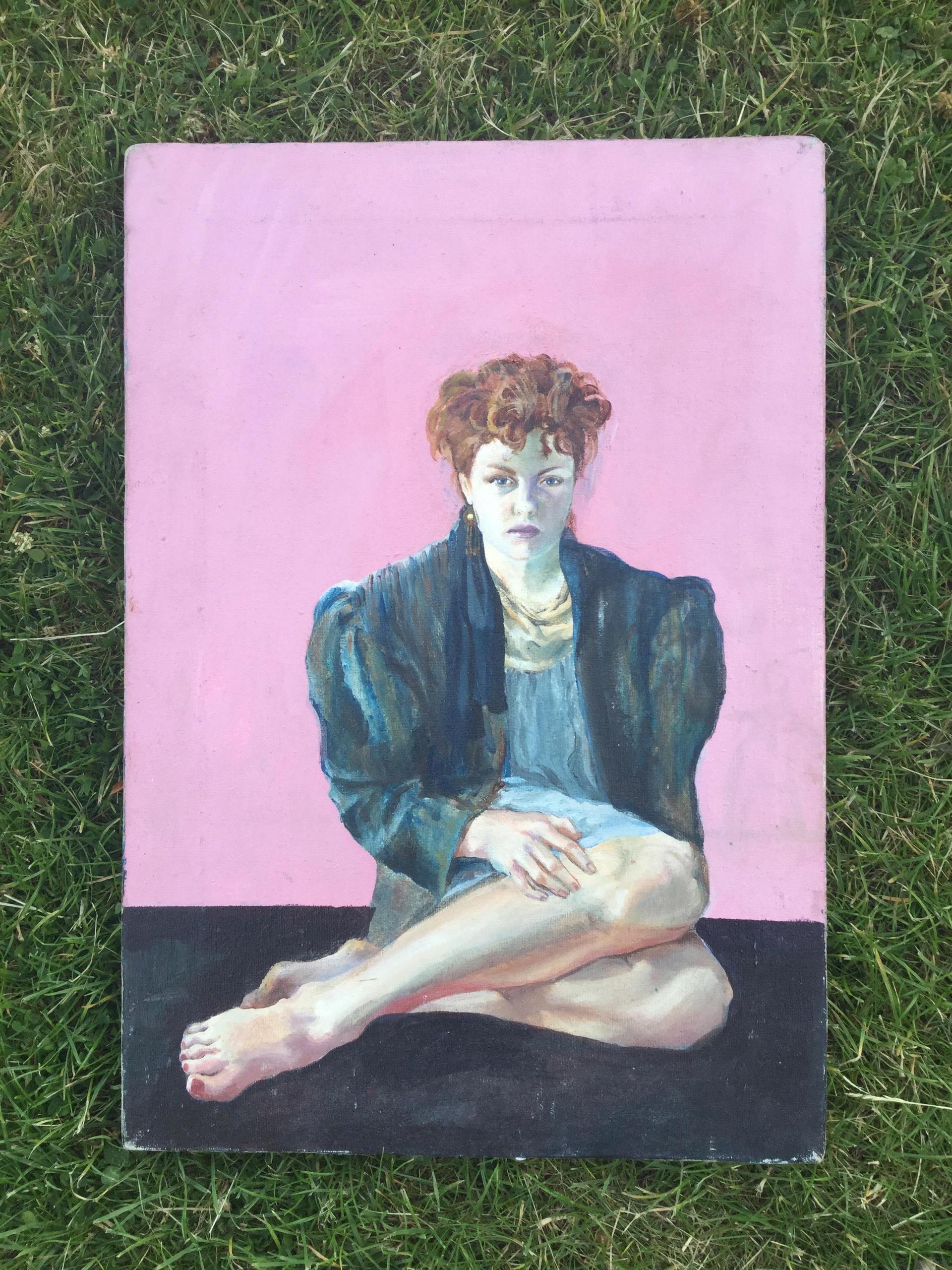 Self portrait aged 17