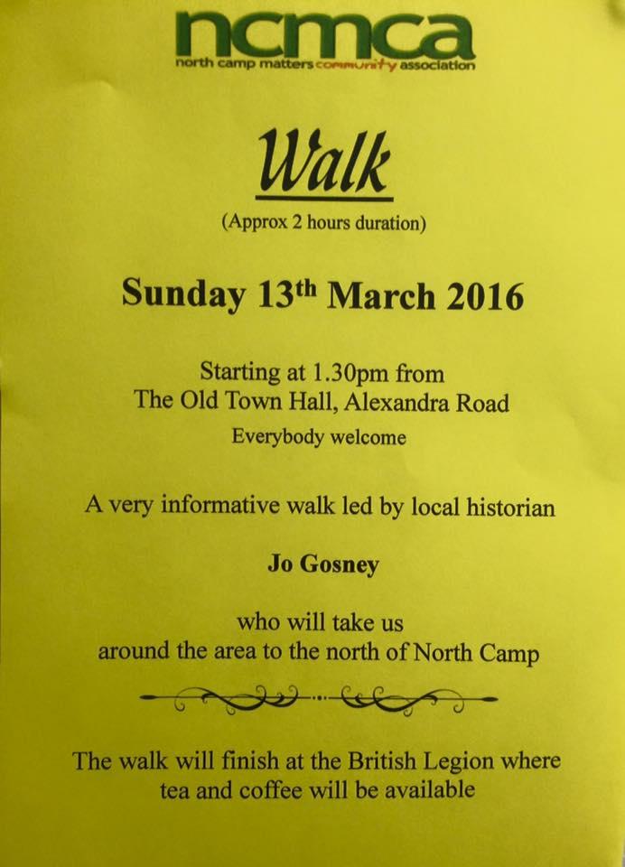 Walk 13 March 16