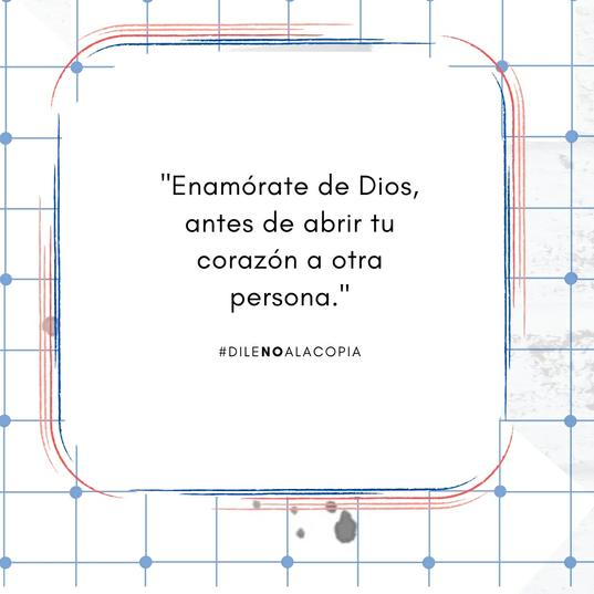 Que lo primero en tu vida sea Dios