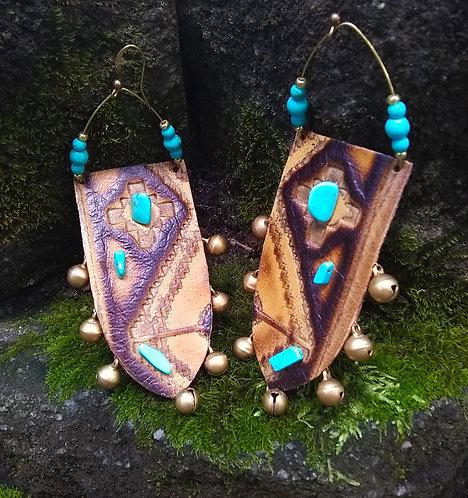 Ashtah Bell Spear Earrings