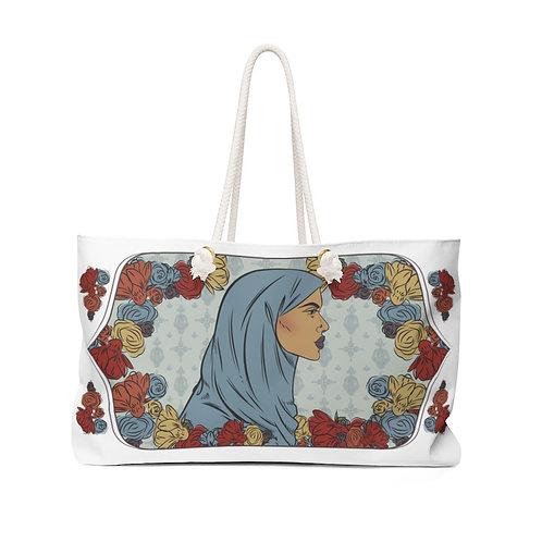 Woman With Hijab 2 Weekender Bag