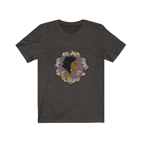 Woman In Color Curly Bob Tee