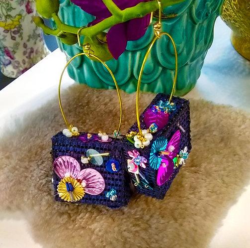 Mishca Sequin Earrings SMALL